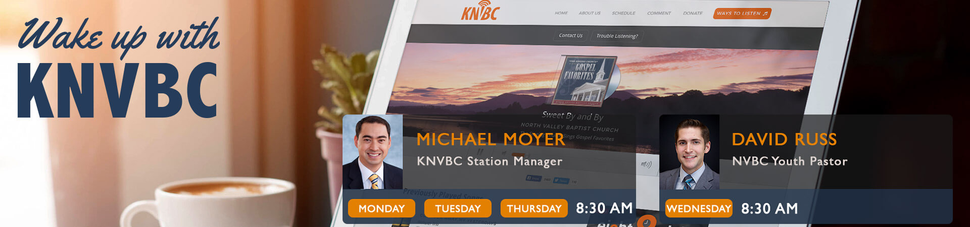Wake up with KNVBC