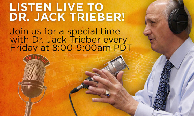 Friday Live Broadcast With Dr. Trieber